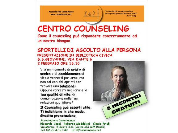 cartolina counseling 2 febbraio