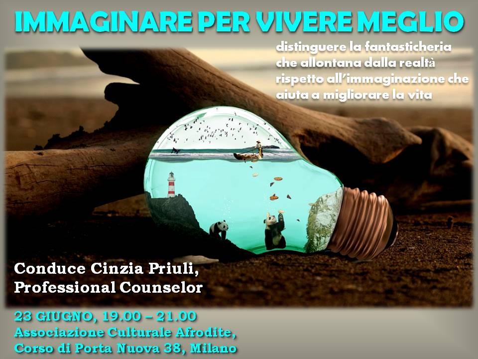 IMMAGINARE PER VIVERE MEGLIO GIUGNO